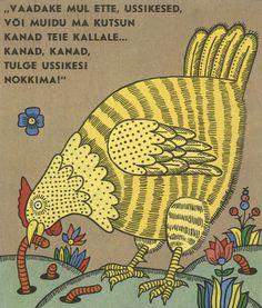 Illustrations by Jaan Tammsaar for KITS SARAPIKUS, a Belarusion tale (Estonia, 1984)