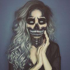 Awesome halloween makeup!