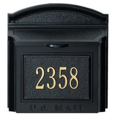 Whitehall Products Personalized Barton 1-Line Mailbox Sign