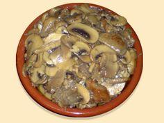 Champiñones a la andaluza - La Cocina Andaluza