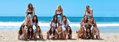 Delta Delta Delta pyramid picture idea! Super cool! Try doing this during special events or just make a photo shoot day with your sisters. #DDD
