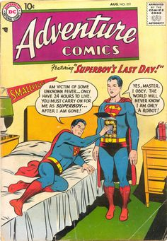 1958 - Before our comic book' heroes were turned into darker characters by modern writers