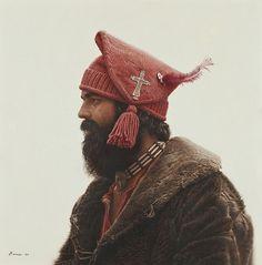 great-beard-rebellion: James Bama, At Mountain Man Wedding (1980)