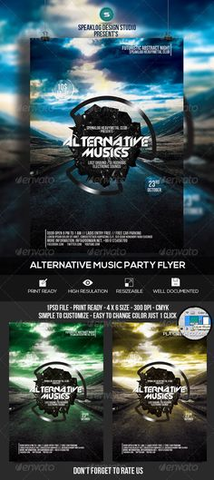 Futuristic Music Event Flyer Template PSD | Buy and Download: http://graphicriver.net/item/futuristic-music-event-flyer-design/8415919?WT.ac=category_thumb&WT.z_author=speaklog&ref=ksioks