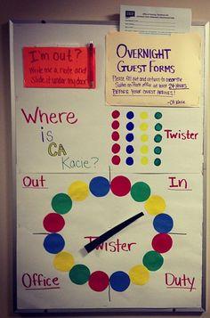 Twister where am I board