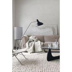 Beautiful, restful beige living room