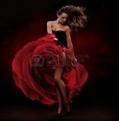 red dress dancing - Google Search