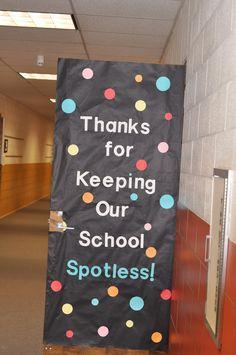 school appreciation door decorating ideas - Google Search