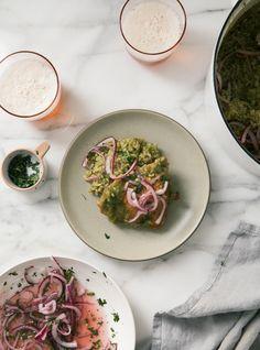Peruvian Green Arroz Con Pollo | A Cozy Chicken | #chickenrecipes #peruvianfood #dinner