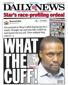 Daily News anti-racial profiling campaign moves from Barneys to Macys