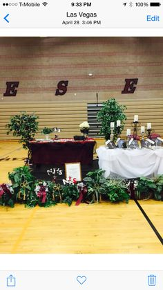 NJHS induction stage National Junior Honor Society, 5th Grade Science, Stage, Table Decorations, Ideas, Thoughts, Dinner Table Decorations