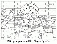 The Ultimate #SquadGoals Coloring Book — print it, color it, live ...