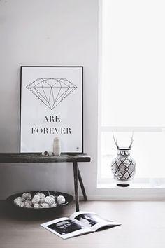 Diamonds are forever | Helt enkelt | Sköna Hem