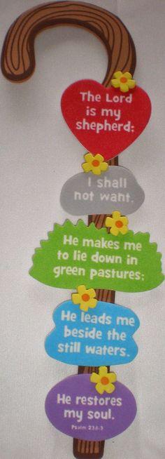 Shepherd's Staff (Psalm 23):