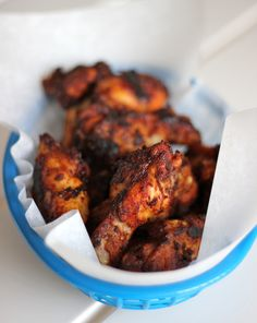 Baked Brown Sugar Chicken Wings - 2015 Week 8 Tailgating Chicken Wing Recipes - http://livedan330.com/2015/10/29/2015-week-8-tailgating-chicken-wing-recipes/2/