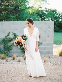 Bianca dress  |  Lena Medoyeff Studio | Bridal | Portland, Oregon | Old World Rehearsal Dinner