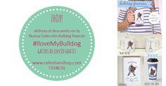 Promoción especial! en celestianshop.com tazas, láminas, vasos, cuadernos. #pinterest #bulldog #frenchie