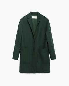 Image 8 of WOOL COAT from Zara