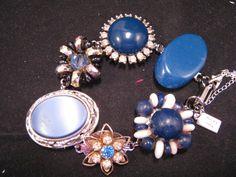 Vintage Earring Bracelet Bridal Bracelet by JenniferJonesJewelry, $37.50