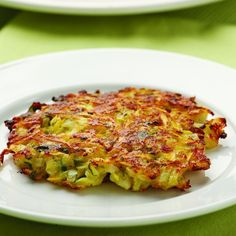 Parmesan-Squash Cakes #YellowSquash