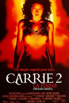 THE RAGE: CARRIE 2 (1999): A massacre strikes up after an outcast girl is taunted by a group of high school jocks, all of them unaware of her violent, cutthroat psychic power.