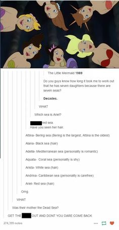 This Person Just Came Up With The Most Mind-Blowing Theory About The Little Mermaid. 0