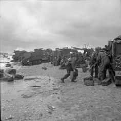 The British Army in Normandy 1944 - Category:Sword Beach, - Wikimedia Commons D Day Normandy, Normandy Beach, D Day 1944, Normandy Invasion, D Day Landings, Military Pictures, Ww2 Pictures, American War, British Army