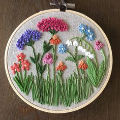Embroidery hoop art gift for her hand embroidered lavender home decoration framed botanical wall art floral hand stitched room decor – Artofit Embroidery Stitches Tutorial, Flower Embroidery Designs, Hand Embroidery Stitches, Crewel Embroidery, Embroidery Hoop Art, Embroidery Techniques, Ribbon Embroidery, Cross Stitch Embroidery, Simple Embroidery