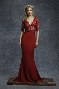 For Mommy Reem Acra Pre-Fall 2015