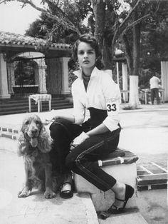 Carolina Herrera aos 16 anos.
