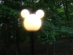 mickey mouse lamppost - Google Search