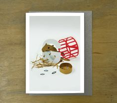 G is for Gerbil  Greeting Card by WeAreLaura on Etsy, £2.80