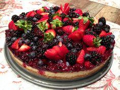 Cheesecake de Frutas Vermelhas                                                                                                                                                                                 Mais
