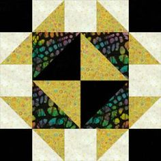 """Use my Broken Dishes quilt block pattern to make a 16"""" square version of the popular patchwork design.: How to Make Broken Dishes Quilt Blocks"""