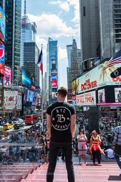 SOAKING IN TIMES SQUARE by HPK