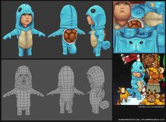squirtle-kid-wireframe