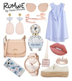 """""""Romwe Style by Paola Moretti"""" by paola-moretti on Polyvore featuring Superga, MICHAEL Michael Kors, Isabel Marant, Ted Baker, Anne Sisteron, Marc Jacobs, Christian Louboutin, Topshop, Sonix and Lime Crime"""