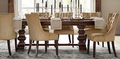 Dining Room Furniture Sets & Banks Dining Collection | Pottery Barn