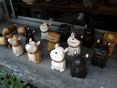 2011-05-21 Japanese clay dogs - Frenchies, Pugs, Golden Retrivers, Dachshunds, Welsh Corgies, etc. Did you find your dog?