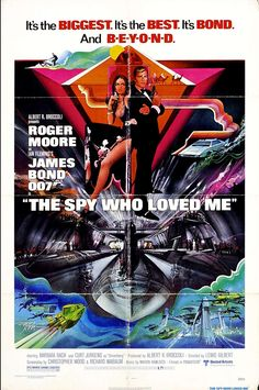 the spy who loved me poster - Google Search