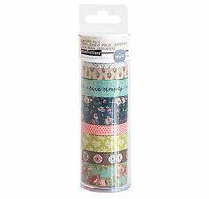 Tubo washi medio Marca RecollectionsEste produto você encontra nas lojas Bala Mental,entre em contato conosco em nossa fan page: