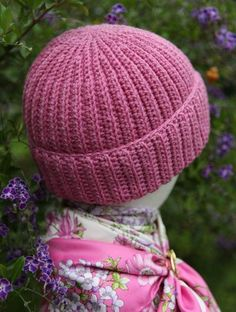 Reversible 'Crochet Brioche' Hat Free Pattern with video tutorial...so cute and different, love it!