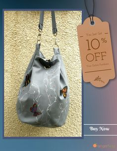 Unique Bags, Drawstring Backpack, Buy Now, Hand Painted, Backpacks, Trending Outfits, Unique Jewelry, Handmade Gifts, Stuff To Buy