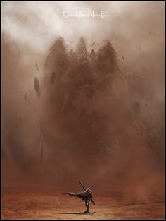 Mark Molnar - Sketchblog of Concept Art and Illustration Works: Project Dune - Sandstorm (Speedpainting)