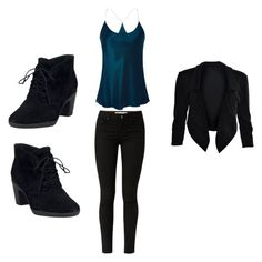 Criminal Minds #3 by karebearo on Polyvore featuring Olivia von Halle and Clarks
