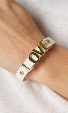 #PUBLIK                   #love                     #LOVE #LETTER #BRACELET   LOVE LETTER BRACELET                                http://www.seapai.com/product.aspx?PID=1092187