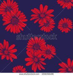 daisy flower pattern - bu vektörü Shutterstock'ta satın alın ve başka görseller bulun. Flower Patterns, Daisy, Flowers, Image, Doodle Flowers, Floral Patterns, Margarita Flower, Daisies, Royal Icing Flowers