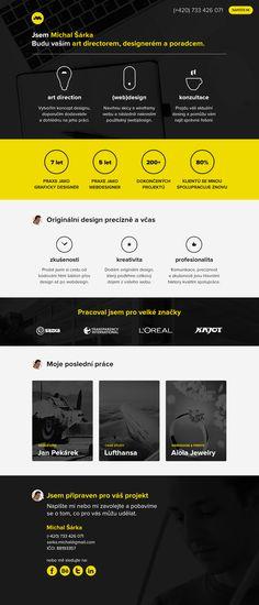 Michal Sarka | art director, (web)designer, consultant