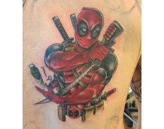 tatuajes de deadpool 9