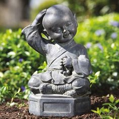 Dreaming Buddha Garden Statue Beautiful Outdoor Items For Your Garden Or Patio! #outdoors #outdoordecor #design #exteriors #exteriorhomescapes #exteriorhomescapes.com
